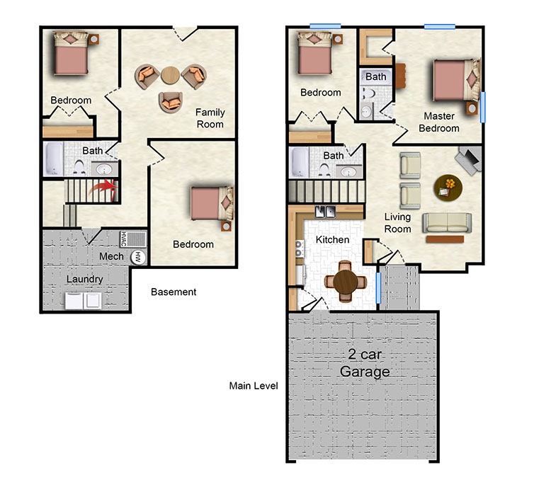 The Arroyo - 2 Bedroom 2A - 304