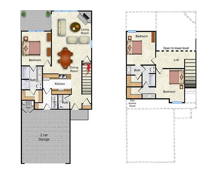The Arroyo - 1 Bedroom 1D - 642